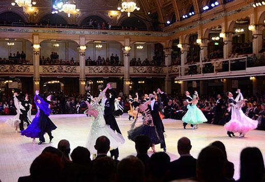 Ballroom Dancing Competition Blackpool