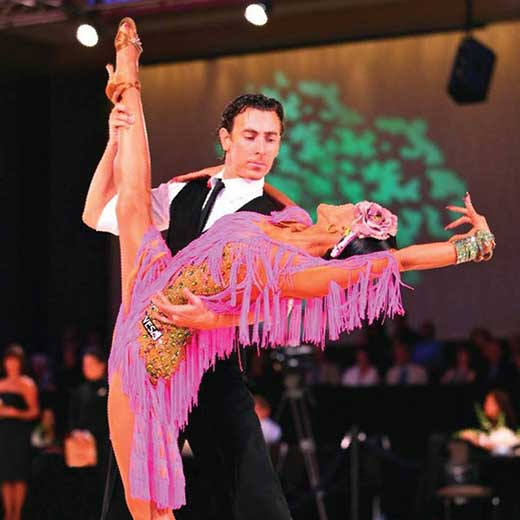 Ballroom Dancing Champion Marcus Johnson