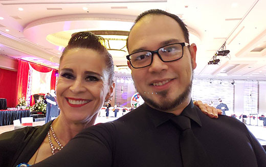 Congratulations on 1st and 2nd Place Finishes at the Vegas Open Ballroom Dance Competition
