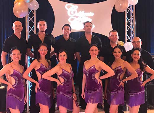 California Chic Classic Ballroom Dance Competition Winners Salsa Team Division