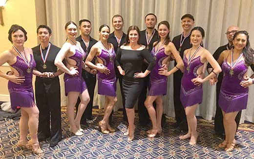 Ballroom Dance Competition Winners