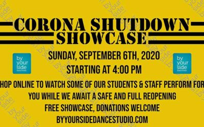 Join Us Online For Our Corona Shutdown Showcase September 6th