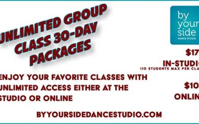 New! – Unlimited Group Class 30-Day Packages