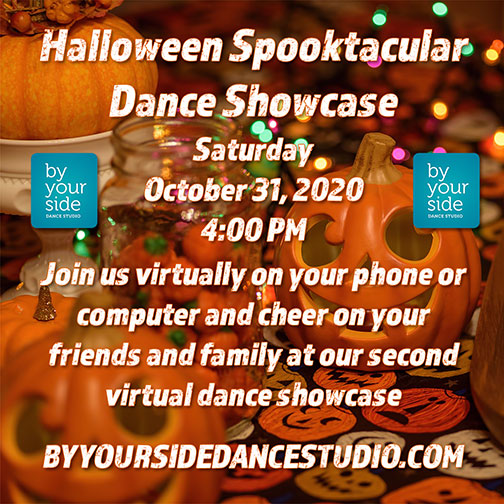 Don't Miss our Spooktacular Halloween Showcase Saturday, October 31st @ 4 pm
