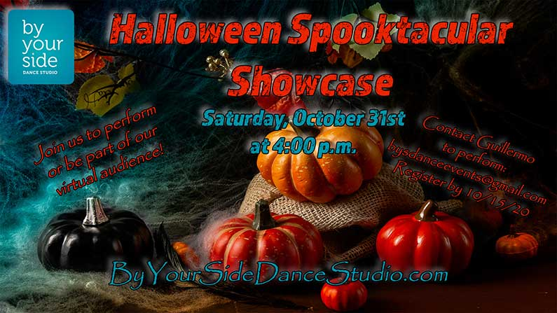 Sign-up to Perform in our Spooktacular Halloween Showcase Saturday, October 31st @ 4 pm