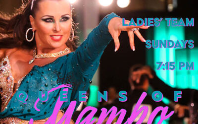 """Join our """"Queens of Mambo"""" Ladies Mambo Team Sundays @ 7:15 pm"""