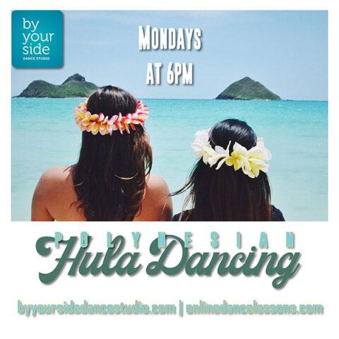 Hula is Back! Mondays @ 6 pm