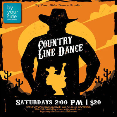 Join our Fun Line Dance Class! Every Saturday @ 2:00 pm