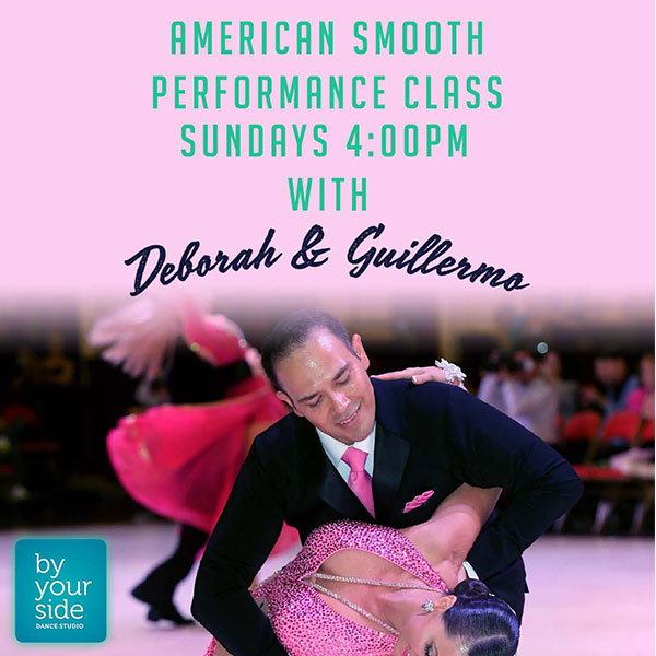 Performance Series – Beginner American Smooth – Sundays @ 12 pm with Guillermo
