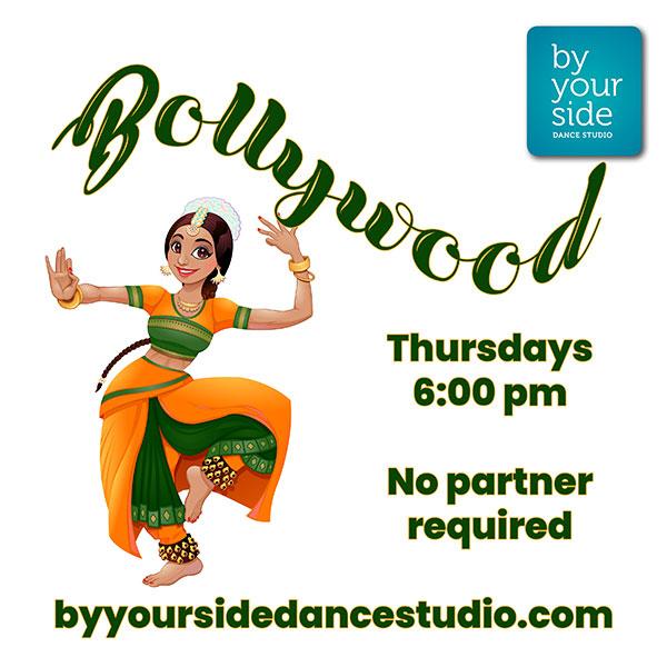 Bollywood Dance Class with Kirithika – Thursdays @ 6 pm.