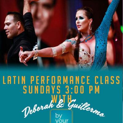 Performance Series – Beginner International Latin – Sundays @ 11 am with Guillermo